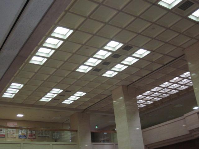 平成22年度管電4-001号 県庁舎照明設備改修工事