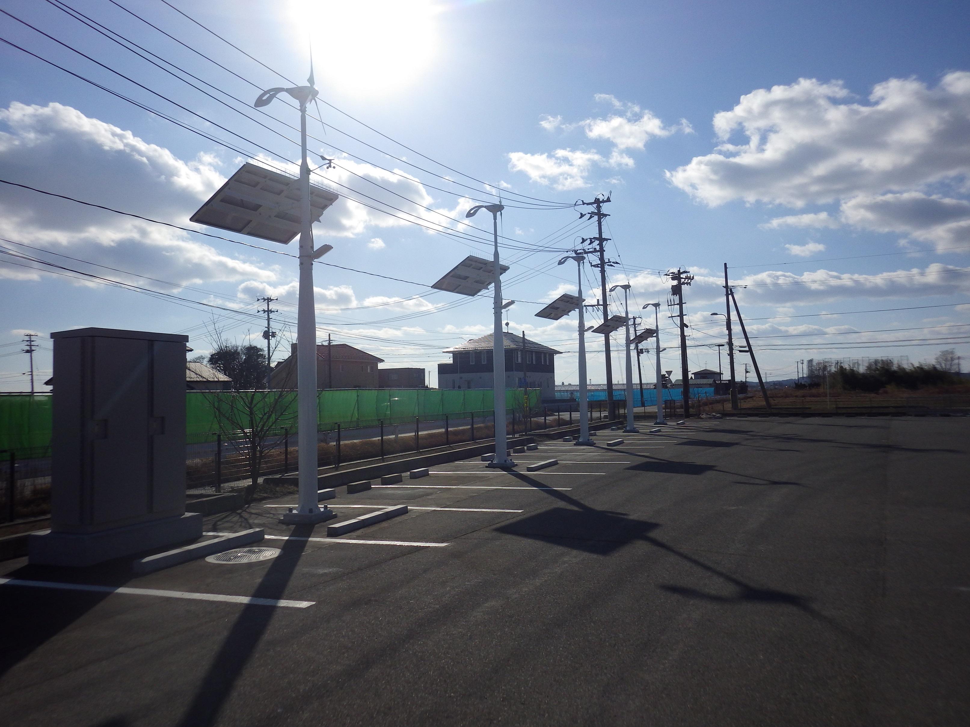 平成27年度東松島市指定避難所太陽光発電設備等工事その2