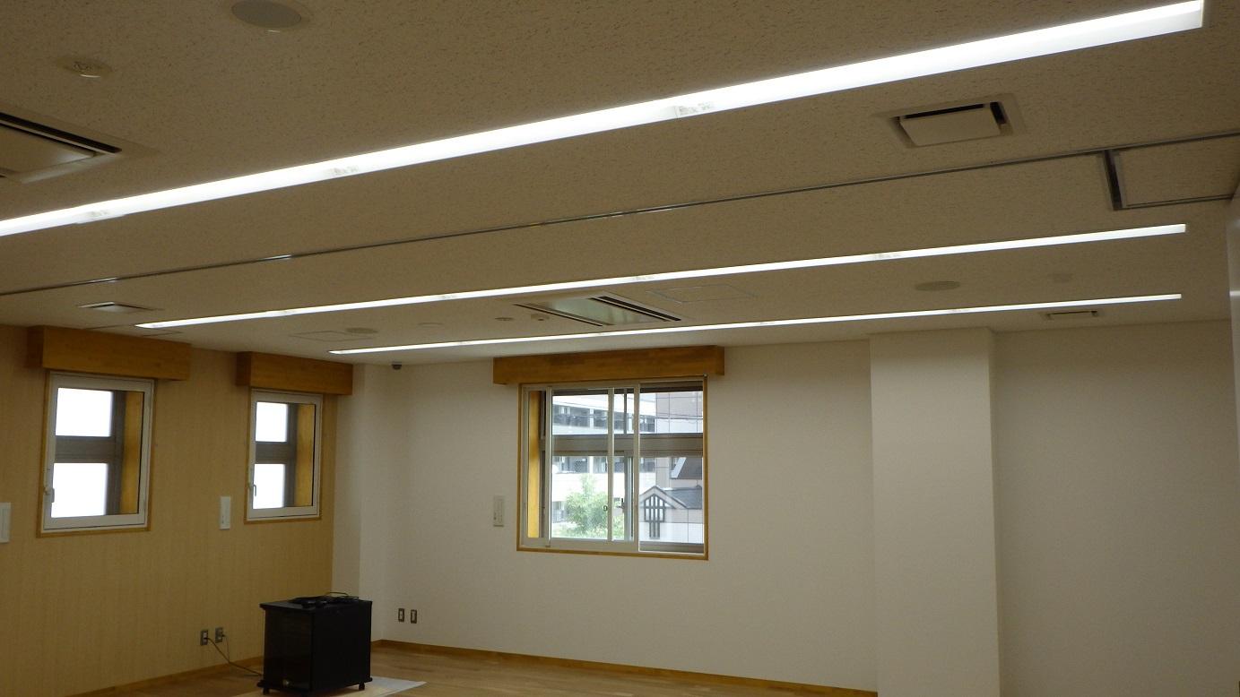 岩沼市地域社会活動・地域コミニュティ形成支援施設電気設備工事