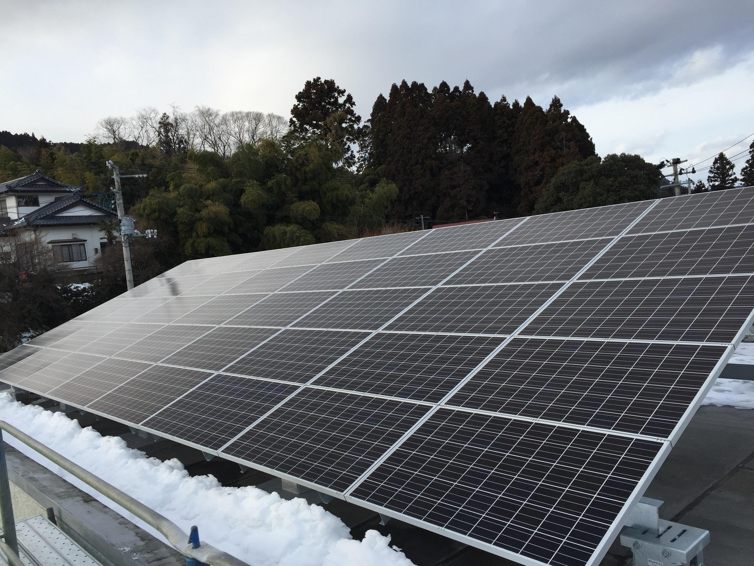 第80号 下増田公民館他1館太陽光発電設備設置工事